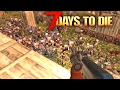 7 Days To Die Modded: How To Survive EVERY HOARD!! (7 Days To Die Gameplay)