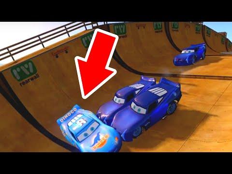 GTA IV Disney Pixar Cars Lightning McQueen Dinoco and Jackson Storm 2.0