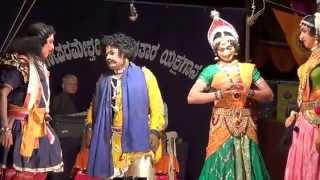 Yakshagana Tulu -- Banatha bangar - perla - Sundara bangady hasya - 2