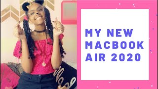 Unboxing My New MacBook Air 2020