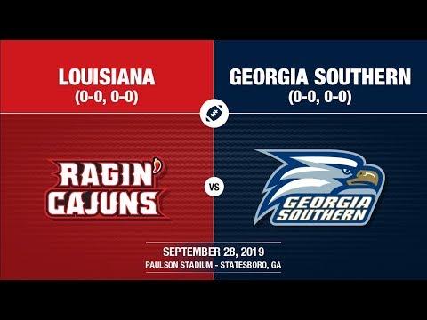 2019 Week 5 - Louisiana At Georgia Southern