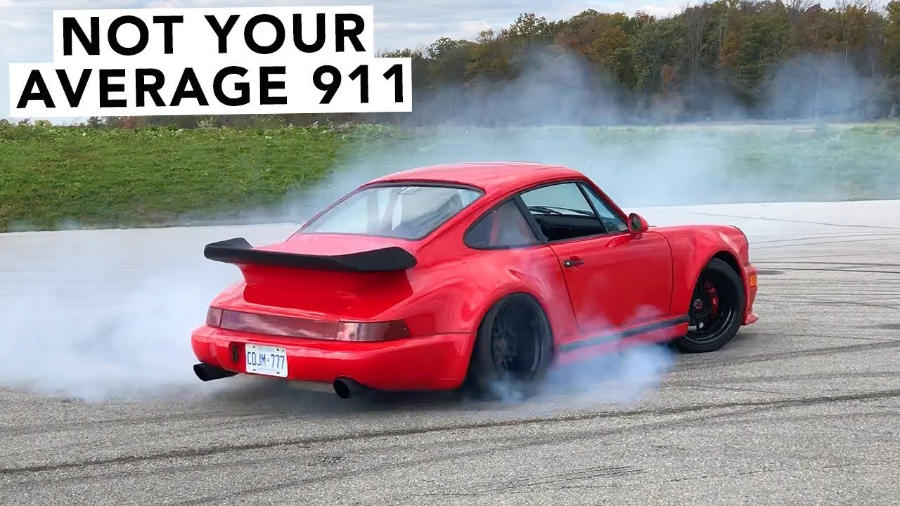 1977 Porsche 911 V8 Twin Turbo Track Review