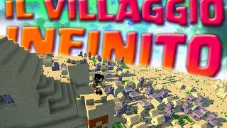 UN MONDO CON VILLAGGI E DUNGEON INFINITI IN MINECRAFT