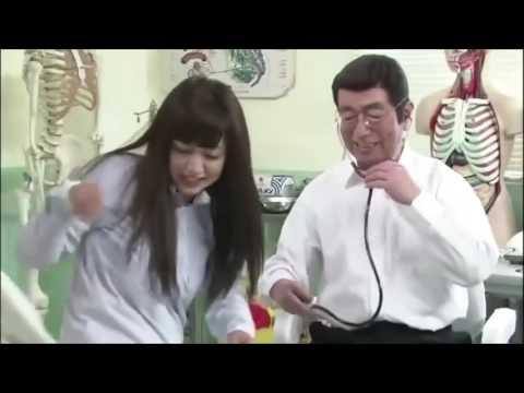 平愛梨が一枚ずつ服を脱いでいく、、志村けんのバカ殿でコントに挑戦!!