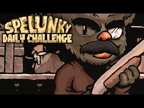 Spelunky Daily Challenge with Baer! - 9/1/2018