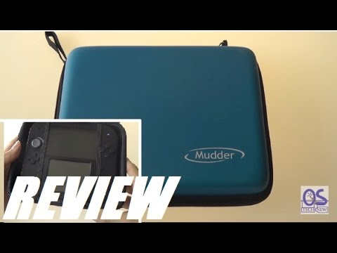 REVIEW: Mudder Nintendo 2DS Travel Carrying Case!