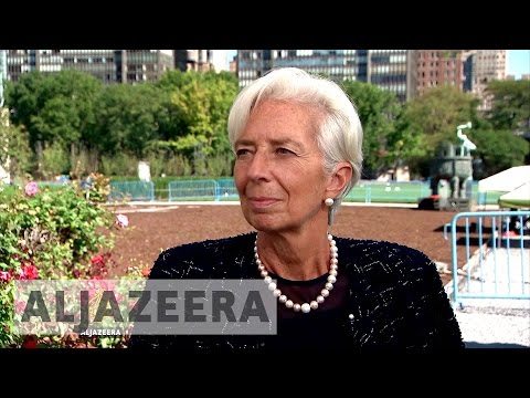 IMF chief optimistic about Egypt's economic recovery