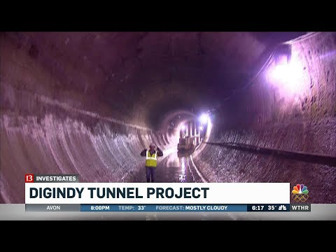 A Look At Indy's Massive Tunnel Project