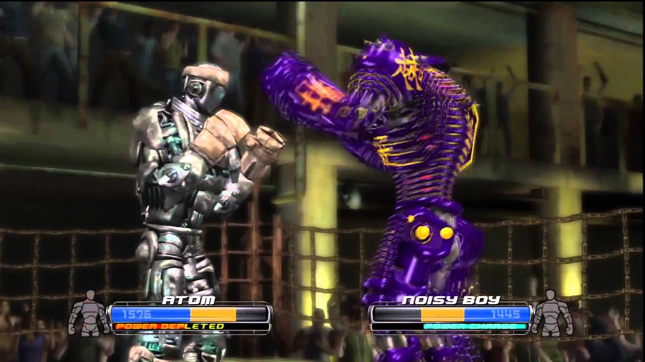 QuickPlay  Real Steel  Robots Fighting Face Punching  YouTube