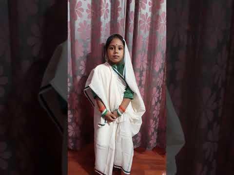 Kasturba Gandhi Fancy dress competition