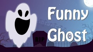 Funny Ghost Cartoon - funny animated Cartoon - Cartoon animated gag - Cartoon for Children
