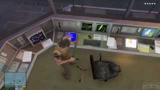 Gta 5 - Military Base Exploration (Jet Pack Clue Hunting)