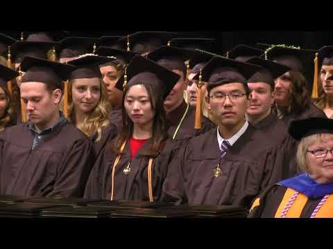 University of Iowa College of Nursing Commencement - December 16, 2017 on YouTube