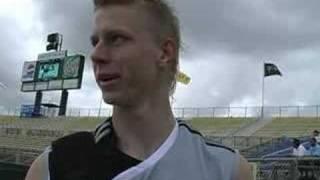 Brek Shea - MLS Combine and SuperDraft
