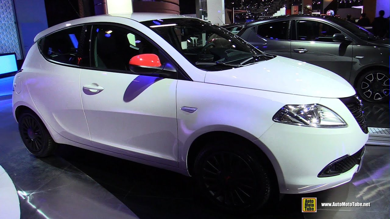 Lancia Ypsilon 2018 >> 2015 Lancia Ypsilon Elefantino - Exterior and Interior Walkaround - 2014 Paris Auto Show - YouTube