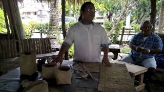 Visiting a Chamaro village in Guam