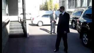 Тренировка охраны VIP-персон сотрудники Сафети-ТЭК