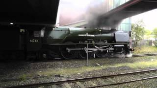 LMS 46233 The Cumbrian Mountain Express Bolton 06 09 2014