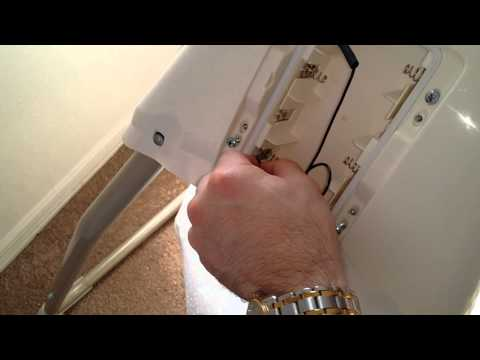 EASILY Convert baby swing to wall power