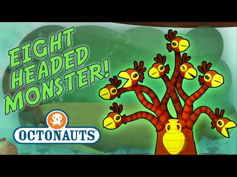 Octonauts - Eight Headed Sea Monster | Dangerous Missions