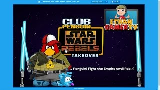 Club Penguin: Star Wars Rebels Takeover (KID GAMING)