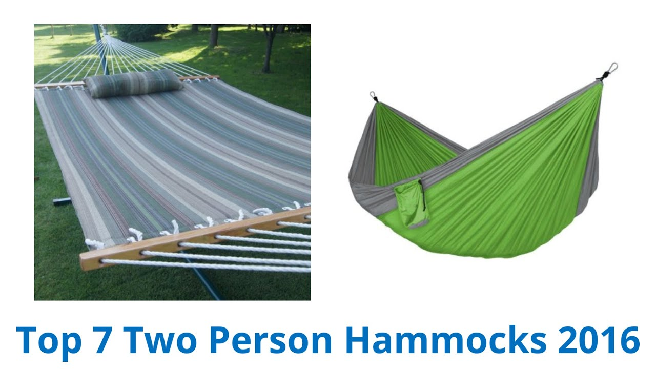 7 Best Two Person Hammocks