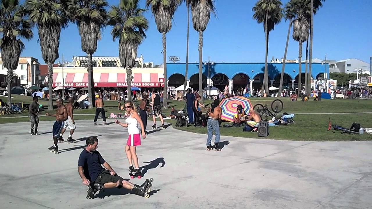 Roller Skating In Venice Beach Ca