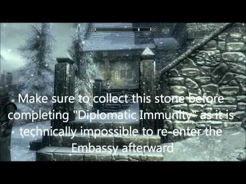 Skyrim - Find ALL the Stones of Barenziah FULL DETAILED VERSION