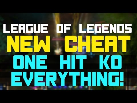 League of Legends Cheats 2015 (1 HIT KO & MAPHACK)