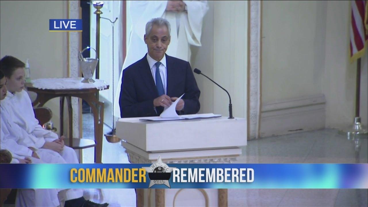 Mayor Emanuel On Bauer's Work