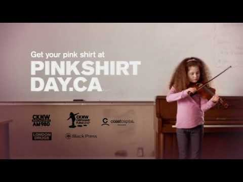Pink Shirt Day Youtube