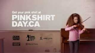 Pink Shirt Day 2013 - TV Commercial