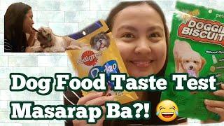 Dog Food Taste Test!!! Masarap Ba? #dogfoodtastetest #dogtreats
