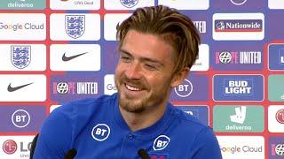 Jack Grealish On Choosing England Over Ireland - England Press Conference Ahead Of Euro 2020 - 1/2