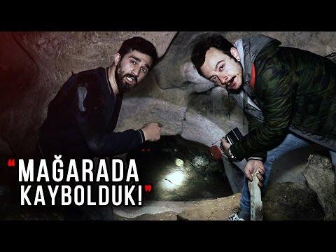 Mağarada Define Malzemeleri Bulduk ve KAYBOLDUK! - Paranormal Olaylar