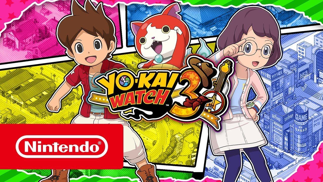 Yo Kai Watch 3 Launches December 7 In Europe Gematsu