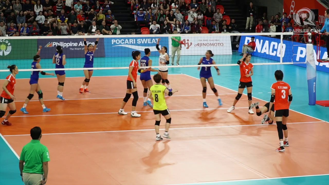 Highlights Ph Bows To Vietnam In Sea Games 2019 Women S Volleyball Debut Youtube