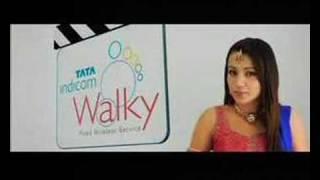 Trisha Tata Indicom Chandramukhi Intro - Indian TV Commercial / Advertisement