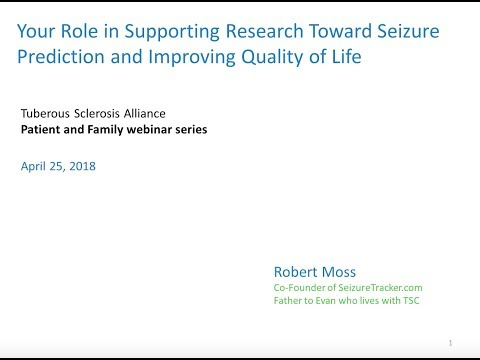 Your Role in Supporting Research Toward Seizure Prediction and Improving Quality of Life