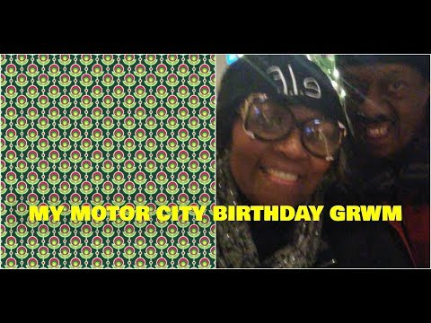 My Motor City Birthday GRWM |  Featuring STILA Magnificent Metals  | Smashbox Matte Exposure