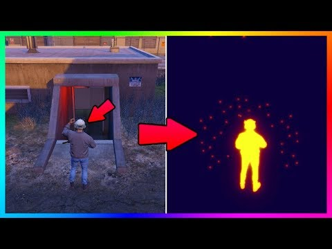 THERE IS SOMETHING UNDER FORT ZANCUDO IN GTA ONLINE....