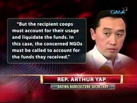 Arthur Yap, nagbigay ng kanyang panig kaugnay ng pagkakadawit ng DOA sa ma-anomalyang foundation