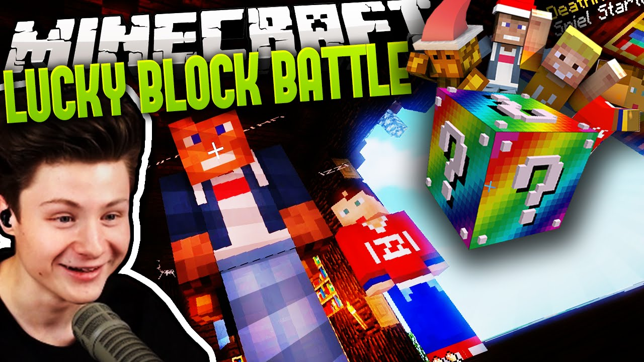 Dner skin  IZZI HAT EINEN NEUEN SKIN! | Minecraft LUCKY BLOCK BATTLE #24 ...