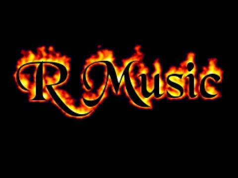 R Music Offical Video Logo R Music
