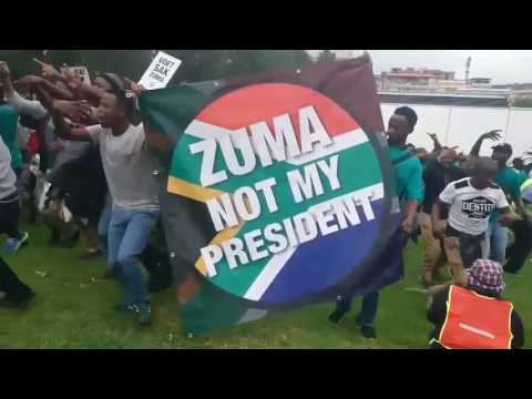 'We are here to support the country' – anti-Zuma marcher in Pretoria