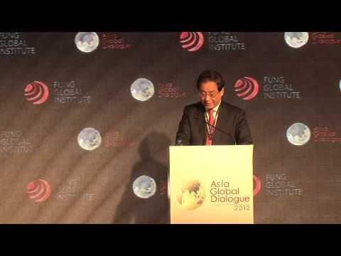 Liu Mingkang's Speech at Asia-Global Dialogue 2012