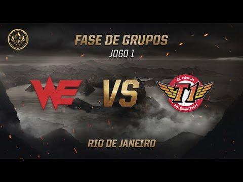 World Elite x SKT T1 (Fase de Grupos - Jogo 6 - Dia 2) - MSI 2017