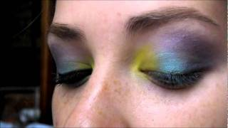Electric Tropics Eyeshadow Tutorial Thumbnail