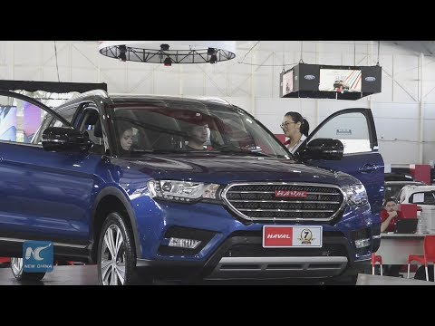 Chinese car brands make huge presence in Costa Rica auto show