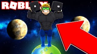 I'M THE STRONGEST KID ON THE PLANET!!! / ROBLOX WEIGHT LIFTING SIMULATOR 3